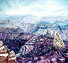 Mount Hayden From the Point Imperial North Rim of the Grand Canyon 1986 25x31 Original Painting by Armin Widmer - 0