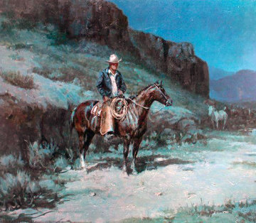 California Wrangler Limited Edition Print by Olaf Wieghorst