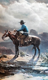 Navajo 1983 Limited Edition Print - Olaf Wieghorst