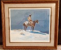 Nez Perce on Appaloosa 1950 (Early) Limited Edition Print by Olaf Wieghorst - 1