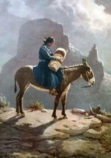 Navajo Madonna 1986 Limited Edition Print by Olaf Wieghorst