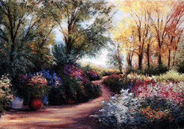 Mount Vernon Gardens 2004 Embellished Limited Edition Print - Gregory Wilhelmi
