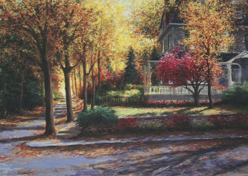 Chestnut Hills 2004 Embellished  Limited Edition Print by Gregory Wilhelmi