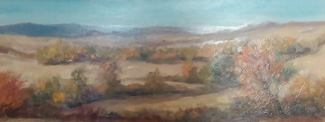 Crow Country 16x29 Original Painting by Gregory Wilhelmi