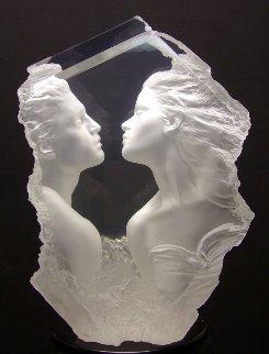 Lodestone  Acrylic Sculpture 2004 24 in Sculpture - Michael Wilkinson