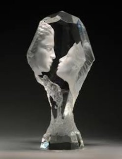 Touchstone Acrylic Sculpture 1996 13 in Sculpture by Michael Wilkinson