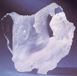 Dream Fragment III Acrylic Sculpture 20 in Sculpture by Michael Wilkinson
