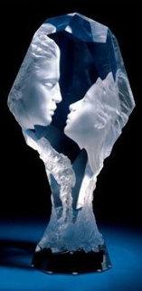 Touchstone Acrylic Sculpture 1996 Sculpture - Michael Wilkinson