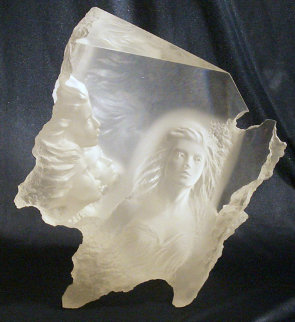 Atlanteans III - Odyssey Acrylic Sculpture 1991 Sculpture by Michael Wilkinson
