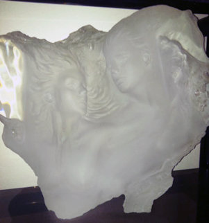 Dream Fragment III Acrylic Sculpture 1989 20 in Sculpture - Michael Wilkinson