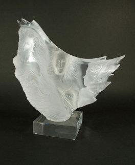Graces Acrylic Sculpture 1991 Sculpture by Michael Wilkinson