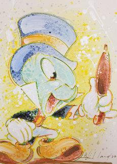 A Chipper Chirper (Jiminy Cricket)  AP Embellished  Limited Edition Print by David Willardson