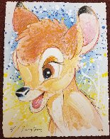 Oh Deer Me (Bambi) AP Embellished Limited Edition Print by David Willardson - 1