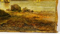 Untitled Landscape 10x14  Original Painting by William Williams - 2