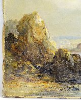 Untitled Landscape 10x14  Original Painting by William Williams - 5