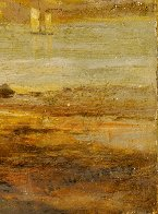 Untitled Landscape 10x14  Original Painting by William Williams - 6