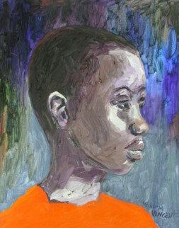 Portrait #5 20x16 Original Painting - William Kirkpatrick Vincent
