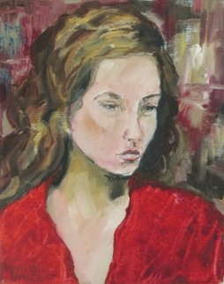 Roxanne Original Painting - William Kirkpatrick Vincent