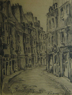 Rue Broca, Paris /22 Drawing - Wilson Silsby