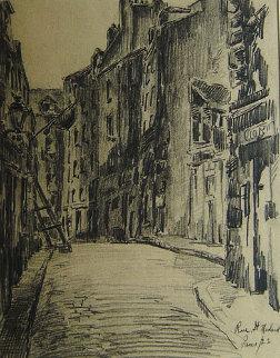 Rue St. Meddard Paris 22 Drawing - Wilson Silsby