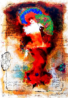 Frances 2001 Limited Edition Print - Tanya Wissotzky