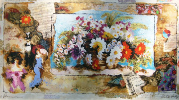 Tokyo Embellished Limited Edition Print - Tanya Wissotzky