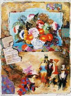 Memories II Embellished Limited Edition Print - Tanya Wissotzky