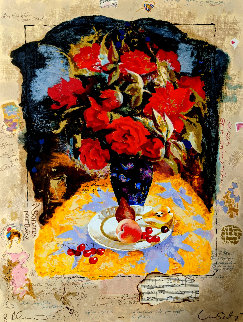 Untitled Still Life 1990 Limited Edition Print by Tanya Wissotzky