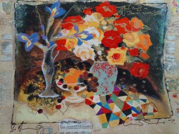 Blue Iris II Limited Edition Print - Tanya Wissotzky