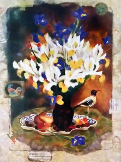 Fruit And Flowers AP Limited Edition Print - Tanya Wissotzky