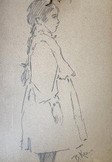 Gretchen Drawing 10x7 Drawing - William Balfour Ker