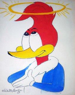 Woody Watercolor 20x16 Original Painting - Walter Lantz