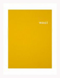 Want Portfolio, Set of 3 Silkscreens Limited Edition Print - William Anastasi
