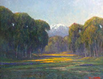 California Springtime 1942 25x30 Original Painting - William Dorsey
