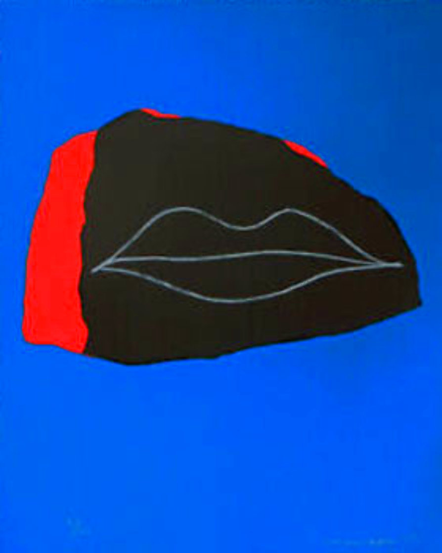 Lips 1968 Limited Edition Print by Emerson Woelffer