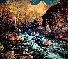 Confluence-Sedona 1994 68x68 Original Painting by Alan Wolton - 0