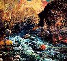 Confluence-Sedona 1994 68x68 Original Painting by Alan Wolton - 3