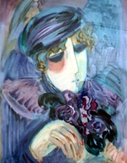 Lady 1992 Limited Edition Print by Barbara Wood