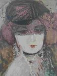 Untitled Lithograph Limited Edition Print - Barbara Wood