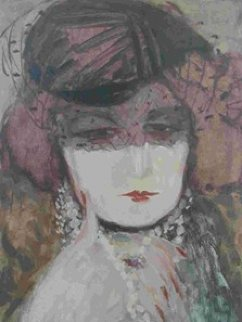 Untitled Lithograph Limited Edition Print by Barbara Wood