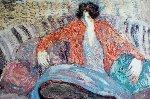 Pillow Woman 1996 Limited Edition Print - Barbara Wood