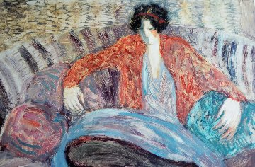 Pillow Woman 1996 Limited Edition Print by Barbara Wood