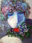 One Rose 1990 Limited Edition Print - Barbara Wood