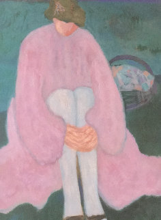 White Stockings  Limited Edition Print - Barbara Wood