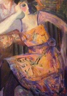Self Portrait Limited Edition Print by Barbara Wood