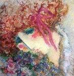 Scarlet Ribbon Limited Edition Print - Barbara Wood