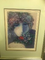 One Rose AP 1990 Limited Edition Print by Barbara Wood - 1