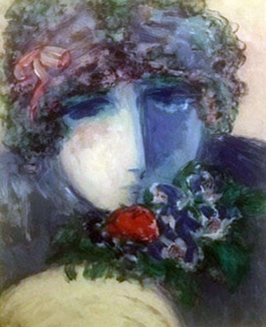 One Rose AP 1990 Limited Edition Print by Barbara Wood