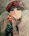 Untitled Female Portrait  Limited Edition Print - Barbara Wood
