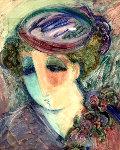 April 35x31 Original Painting - Barbara Wood